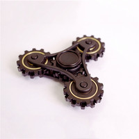 Four Gear Linkage Fidget Spinner American Explosion EDC Hand Spinner Metal Fingertip Gyroscope Kids Adult Relieve