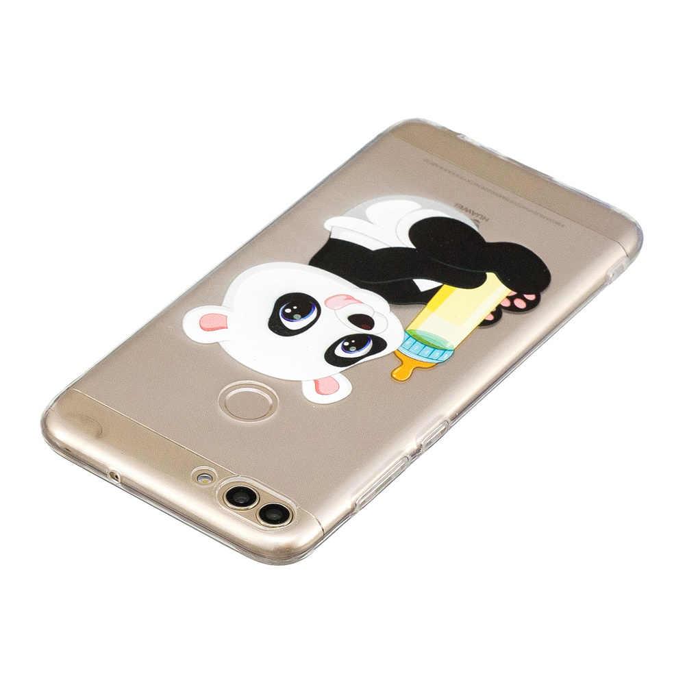 Huawei P inteligente caso de S 7 S FIG-LX1 FIG-L31 FIG-L11 teléfono lindo PSmart FIG LX1 L31 L11 LA1 funda de silicona suave