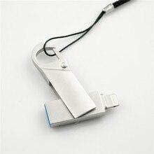Usb Flash Drive For iphone 8/7/7plus/6/6s Plus/5/5S/5C/ipad 8gb 16gb 32gb Pen drive 64gb 128GB OTG usb 2.0 memory stick цена и фото