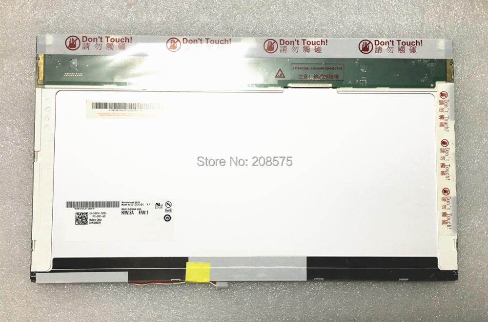 Free Shipping B156XW01 V2 V.2 V1 V0 V3 LTN156AT01 LP156WH1 TLC1 CLAA156WA01A N156B3-L02 15.6'inch LCD screen 1366*768 LVDS 30pin 18 5 inch lcd screen g185xw01 v2 v 2