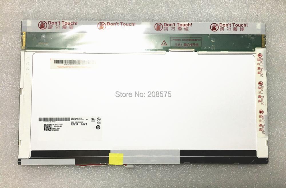 Spedizione Gratuita B156XW01 V2 V.2 V1 V0 V3 LTN156AT01 LP156WH1 TLC1 CLAA156WA01A N156B3-15.6 'pollici schermo LCD 1366*768 LVDS pin
