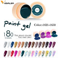 Canni Gel Polish New Brand 100% Soak Off UV LED Gel Nail Polish 60 Beauty Colors Nail Polish Nail Art Design Nude Colors Gel