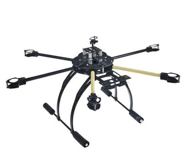 ATG 700mm 4 6 Axle Y4 12mm Arm Tube Fiberglass Folding Frame Kit Tall Landing Skid DIY RC Quadcopter HexaCopter FPV F05381