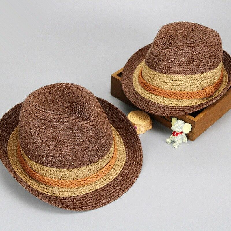MZ4687 bicolor hat 2018 summer new visor Beach sunshade hat wholesale parent-child cap