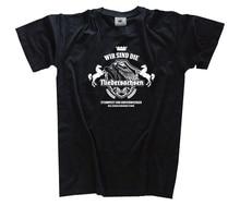 Wir sind die Niedersachsen-Niedersachsenlied Germanen T-Shirt S - 3XL Harajuku Tops t shirt Fashion Classic Unique