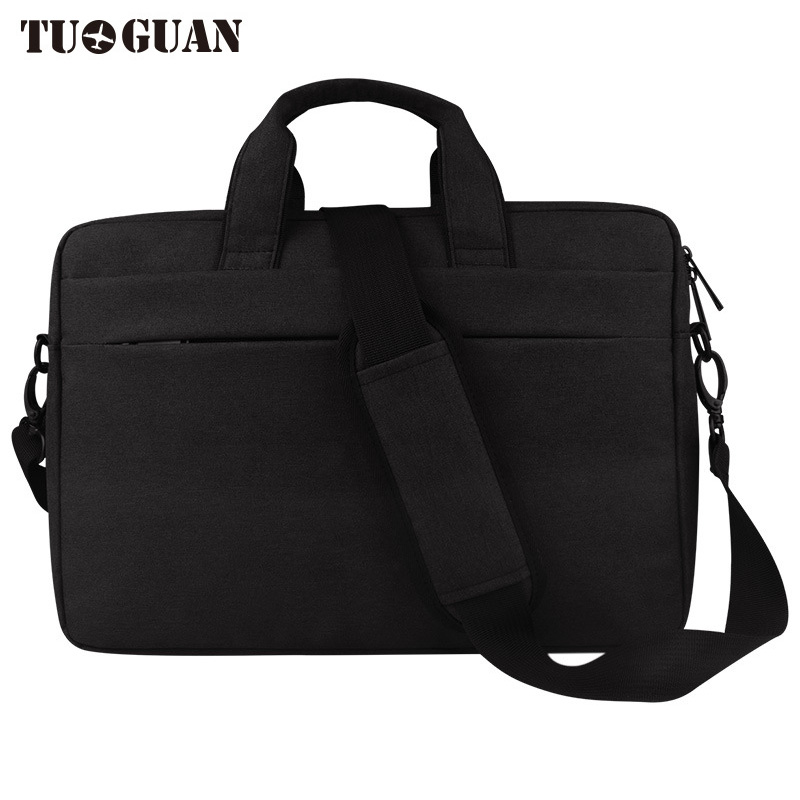 TUGUAN Men/Women Handbag Laptop Bag Waterproof Portable Computer Case Briefcases Notebook Bag Air Pro By 15.6 Inches for Male