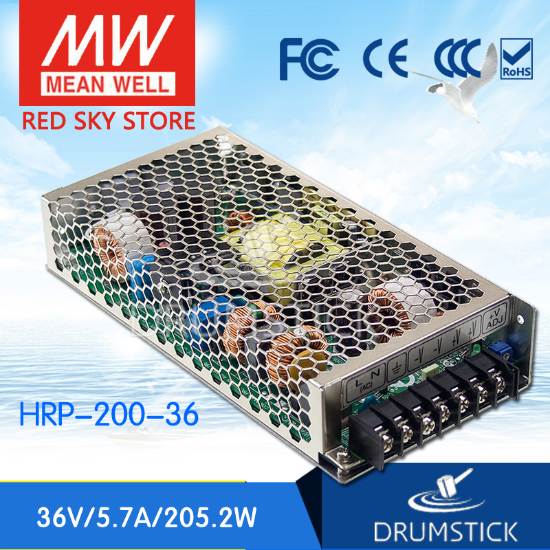 Advantages MEAN WELL HRP-200-36 36V 5.7A meanwell HRP-200 36V 205.2W Single Output with PFC Function Power Supply advantages mean well hrpg 200 24 24v 8 4a meanwell hrpg 200 24v 201 6w single output with pfc function power supply [real1]