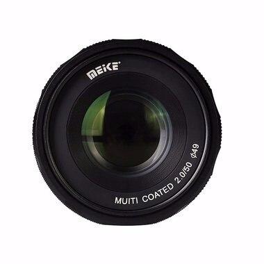 Meike MK-EM-50-2.0 50mm f 2.0 Large Aperture Manual Focus lens APS-C For Canon EF-M cameras
