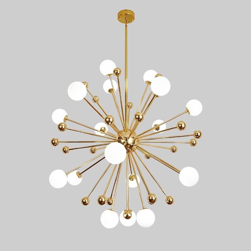 Glass Led Lamp Modern Design Chandelier Ceiling Living Room Bedroom Dining Room Light Fixtures Decor Home Lighting G4 220V