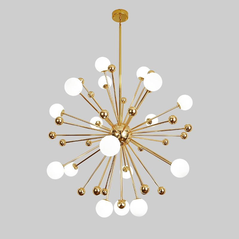 Glass Led Lamp Modern Design Chandelier Ceiling Living Room Bedroom Dining Room Light Fixtures Decor Home Lighting G4 220V