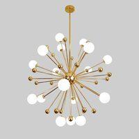 Glass Led Lamp Modern Design Chandelier Ceiling Living Room Bedroom Dining Room Light Fixtures Decor Home