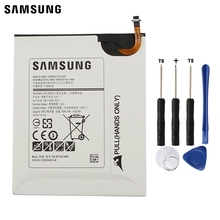 Samsung Original Replacement Battery EB-BT561ABE For Samsung GALAXY Tab E SM-T560 T560 T561 Authentic Tablet Battery 5000mAh цена
