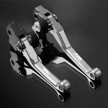 CNC Pivot Lever For SUZUKI RM 125 RM250 250 2004 2005 2006 2007 2008 Brake Clutch Have LOGO 7 Colors