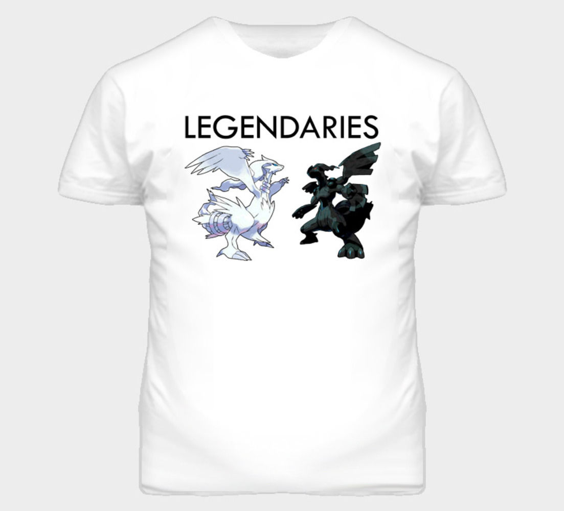 Pokemon Black And White Legendaries T Shirt T Shirt Gift