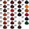 100 ML Colorido Profesionalizar Personal Gris Color Permanente Súper Crema Para El Cabello Tinte Color de Pelo No tóxico Estilo de Pelo Gris para colorear