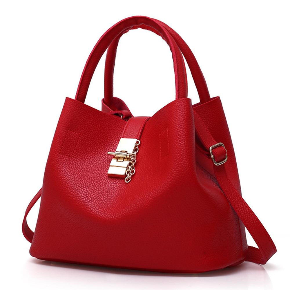 2 Stücke Frauen Mode Leder Schulter Taschen Brötchen Mutter Tasche Mit Handtasche Hohe Qualität Frauen Handtaschen # Zs Guter Geschmack