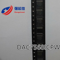 DAC7568ICPWR DAC7568ICPW DAC7568 Integrado Chip IC original