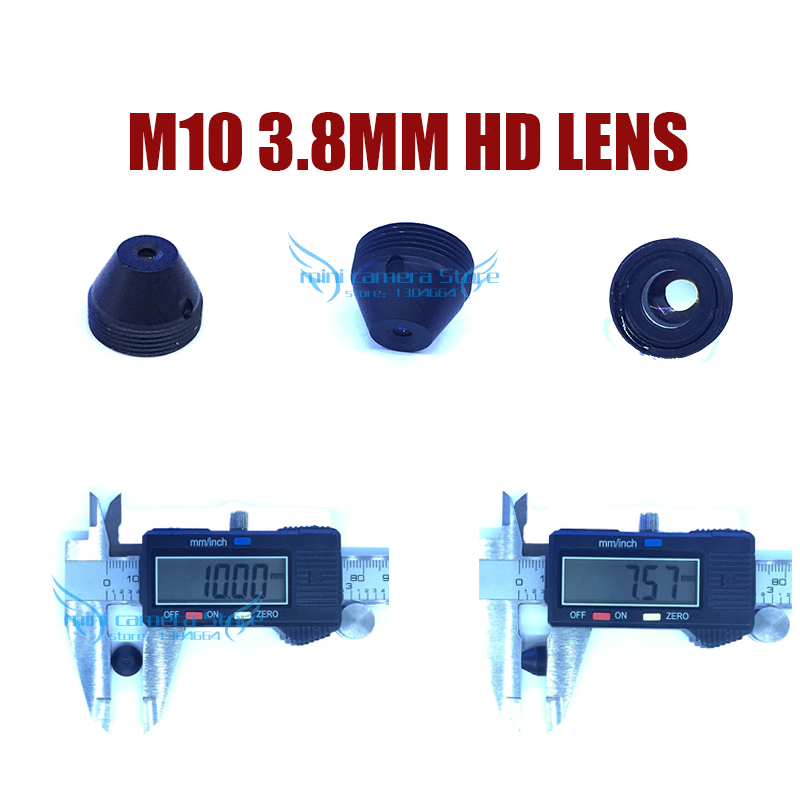HD M10-3.8MM Pinhole lens for cctv video surveillance mini camera CCD/CMOS/IPC/AHD IP Cctv Camera DIY Module Free shipping gotake mini security camera cctv ahd 1080p 3 7mm pinhole lens 1 3 ccd wired surveillance analog video bullet type with stand