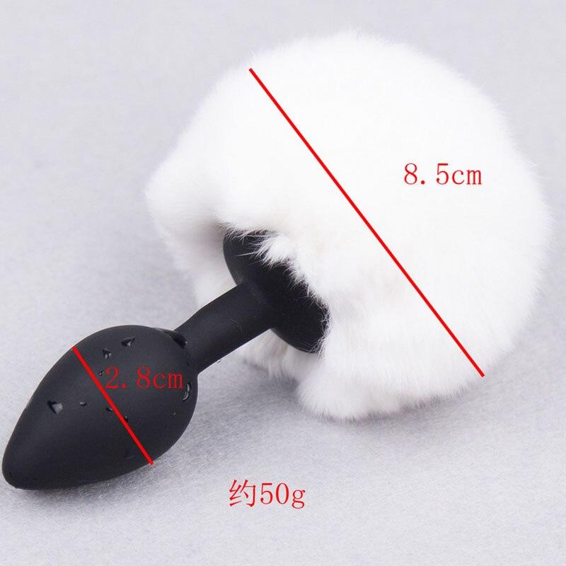 Sangdo Sexy анальный туннель игрушка кролик хвост Форма Анальная пробка дворе стимуляция Секс стимулятор мастурбация игрушка