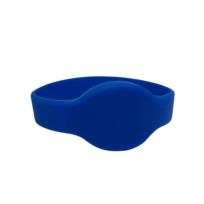 125khz blue EM4100/TK4100 silicone bracelet read only ID identification tag wristband 60 pieces per lot недорого
