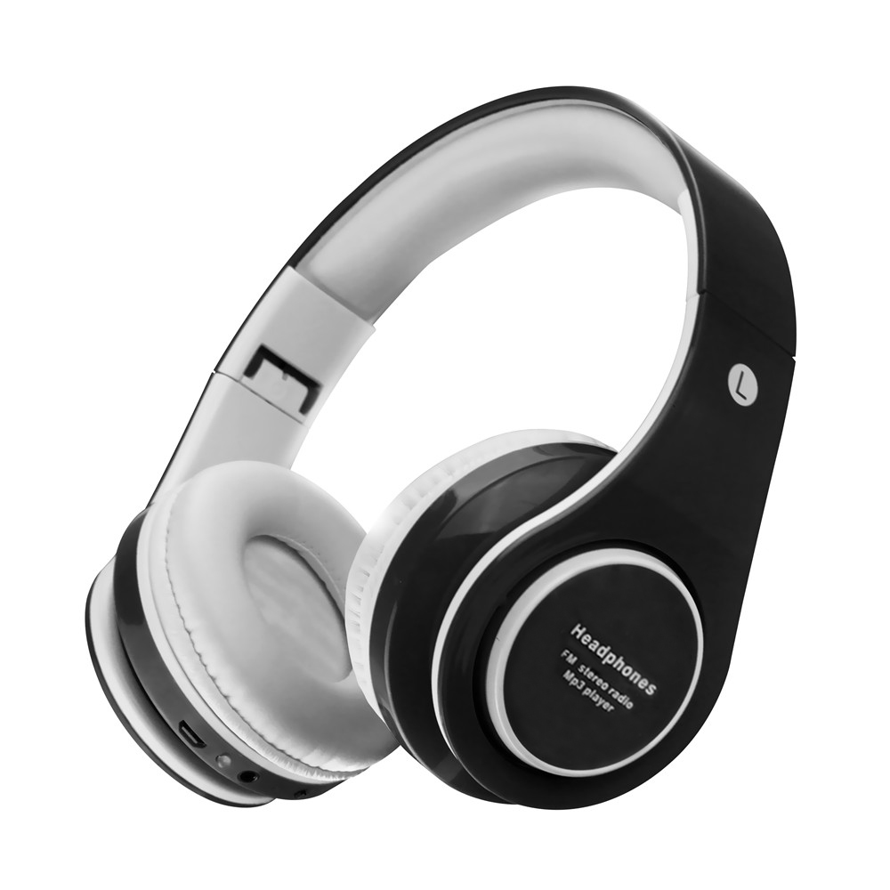 Wireless Bluetooth Music Stereo Headphones with Mic Headset Handsfree Earphones Support TF Card FM Radio for Iphone Xiaomi Phone desxz b570 wireless headphones bluetooth handsfree stereo folding over ear with mic lcd fm radio tf slot for iphone phone