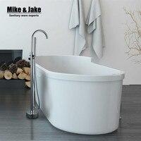 Chrome Floor Mounted Bathroom Brass Bathtub Faucet Single Handle bathroom stand along faucet stand bath tap LT565