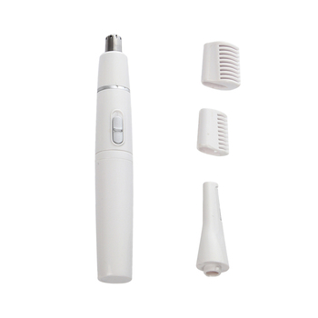 1 Set Electric Facial Nose Eyebrow Hair Trimmer Shaver Epilator for Men Women Battery-Operated - Size 0.6x 0.6 x 5.1in