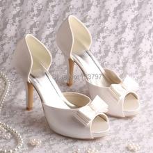 Wedopus Новая Модель На Заказ Ручной Пищу Пальцами Женская Обувь Для Свадьбы Челнока