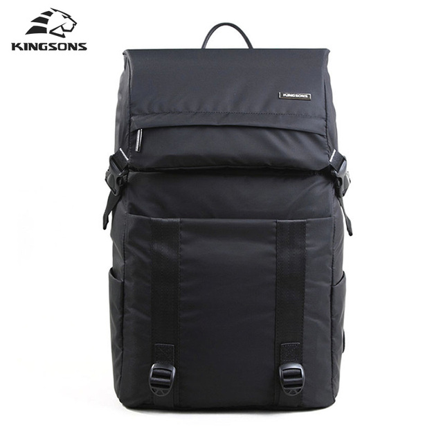 Kingsons Everest Stylish Men's Laptop Backpack Waterpoof Nylon Computer Rucksack  Travel School Bags 15.6 Inch