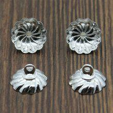 Bouchons de perles en cuivre de haute qualité, 4 couleurs, 10mm, pour la fabrication de bijoux, 30 pièces/lot