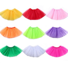 Adult Women Tutu Mini Skirt Girls' Ballet Prom Party Tulle Petticoat Dance Fancy Halloween Costume 40cm