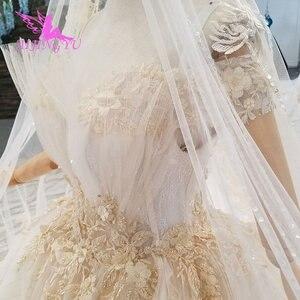 Image 1 - AIJINGYU プラスサイズウェディングドレスブライダルドレス販売トルコビーズ中国工場ガウンウェブサイト高級クリスタルウェディングドレス