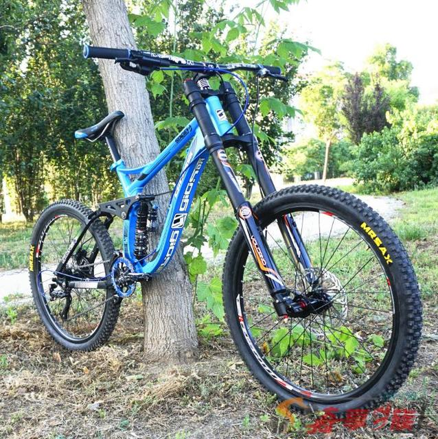 890ced2e051 FR Full suspension Downhill mountain bike ,tyre dirt bike , 26*2.35inch mountain  bicycle 8/9/10/11 S