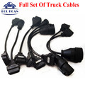 Full Set Of Truck Cables For Tcs CDP PRO CDP Scanner OBD2 Diagnostic Cables Truck Cables Free Shipping