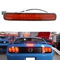 1 unids Rojo Brillante Lente Super Brillante de $ NUMBER LED Tercera tercera Luz de Freno Para 2005-2009 Ford Mustang Freno Trasero parando la luz