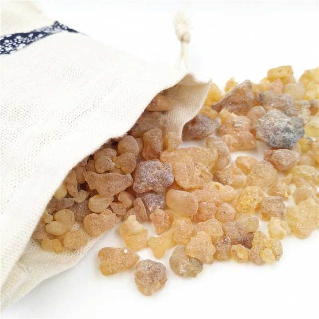 Cloth Bag Of Frankincense Resin Incense