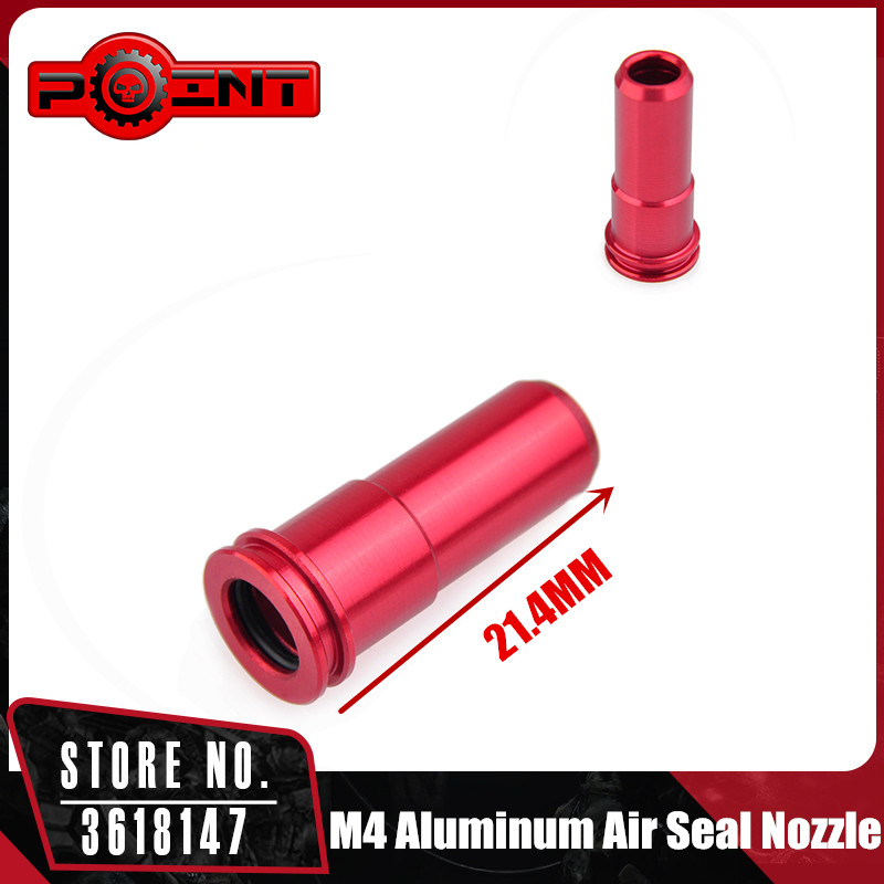 POINT CNC Aluminum Air Seal Nozzle For M4 Series Airsoft AEG