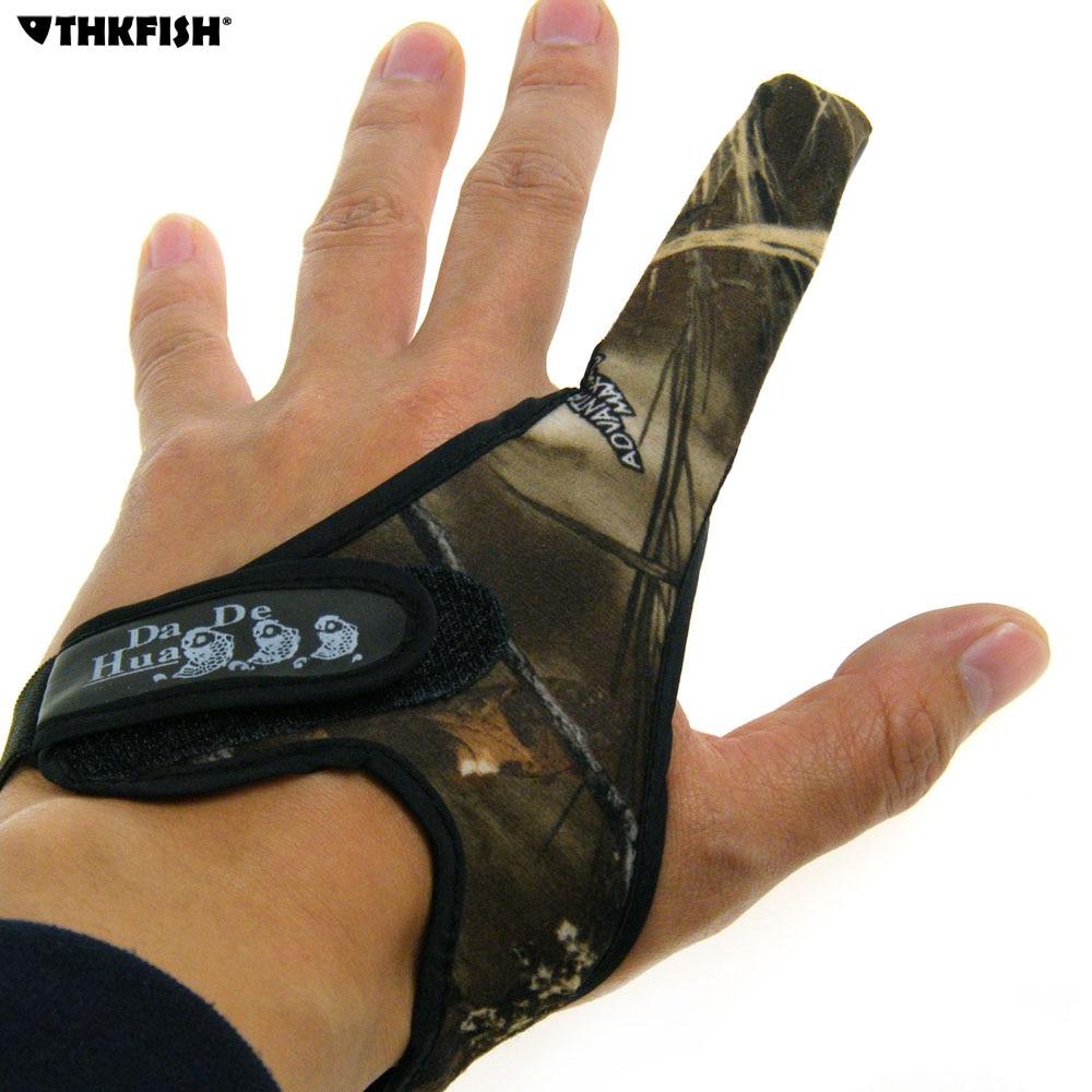 1pcs one finger anti slip fishing gloves fly protector for Fly fishing gloves