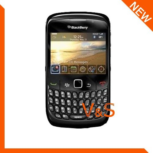 500pcs/ lot High Quality Anti-scratch and Durable Clear Screen Protector for  blackberry 8520 Retail Package