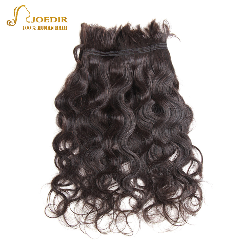 Joedir Hair 10 To 30 Inch Body Wave Remy Brazilian Bulk Human Hair For Braiding No Weft 3 Bundles Deal Bulk Crochet Human Hair