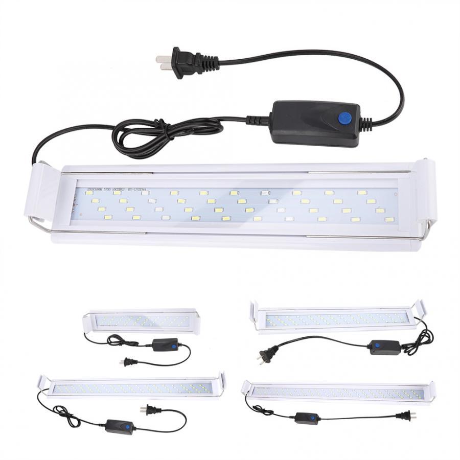 180 Degree Irradiation Adjustable Aquarium LED Light Low Power Spectrum Plant Fish Tank Lamp Clip Light