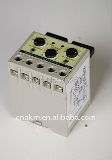 Electronic Motor Protection Relay Over Current Over Load