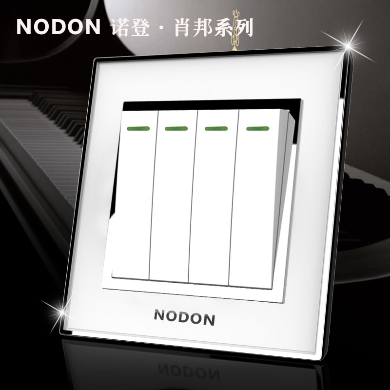 Norden acrylic crystal mirror four switches socket panel 4gang 2way  эмаль акриловая eskaro norden 70 универсальная 2 7л