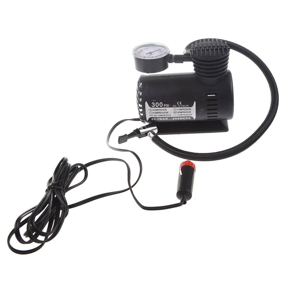 TOYL 12V Car TOYL Electric Pump Air Compressor Portable Tire Inflator 300PSI K590