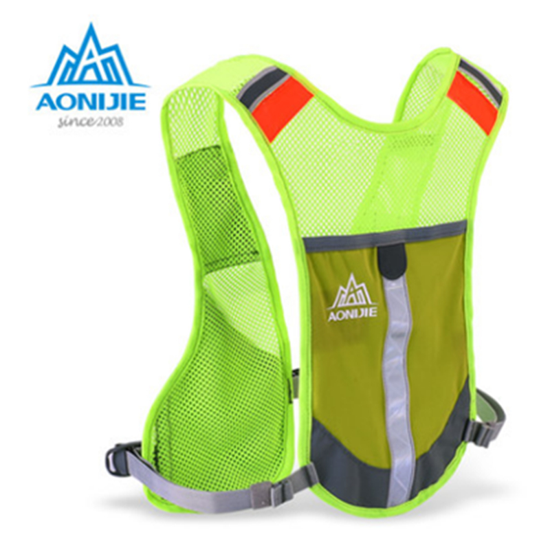 480fcd7c1f AONIJIE 5L Outdoor Reflective Sport Backpack Women Men Marathon Hydration  Vest Pack for camping Running Cycling Hiking Backpack
