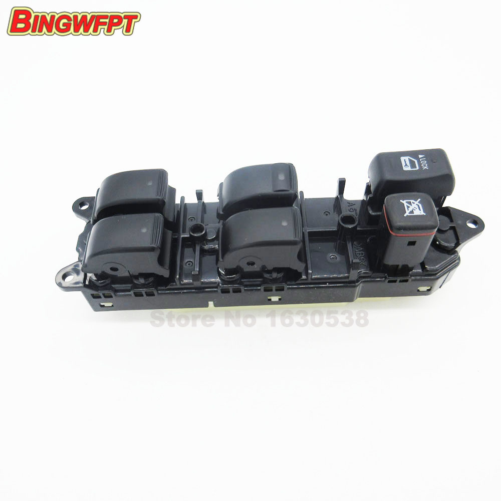 Electric Power Window Switch 84040 60052 84040 60090 84040 60091 For Toyota Land Cruiser 100 Lexus
