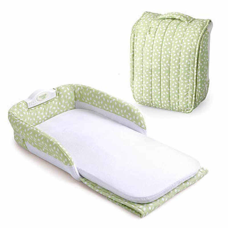 Детские сумки для подгузников, Детские Безопасные изоляционные кровати, детская кроватка для новорожденных, портативная складная детская колыбель, кровать для путешествий, складная кровать