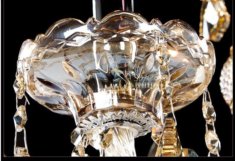European floor standing chandelier lamps home art deco floor lamp gold crystal floor lighting lamp lampade da terra