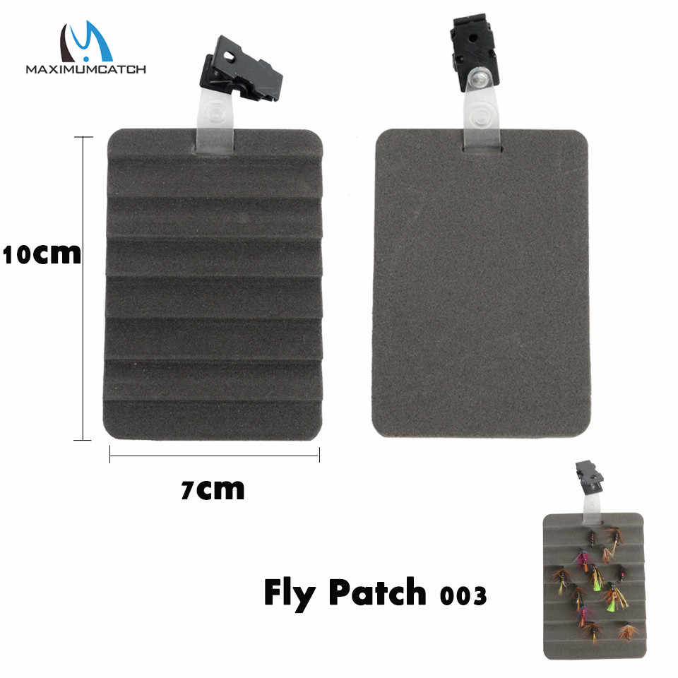 Clip on Fly Patch Fly Trocknung Patch Schaum Fliegen Trockner Angelzubehör
