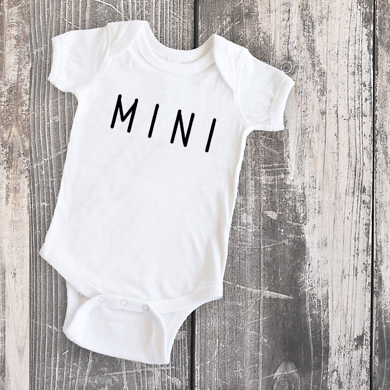 mommy and me family clothing mom daughter tops son matching clothes mini baby tshirt look summer white love 3-4t